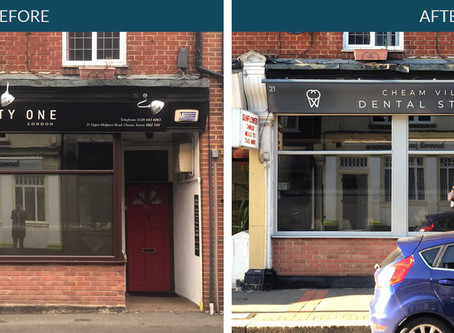 The Rebrand of Cheam Village Dental Studios