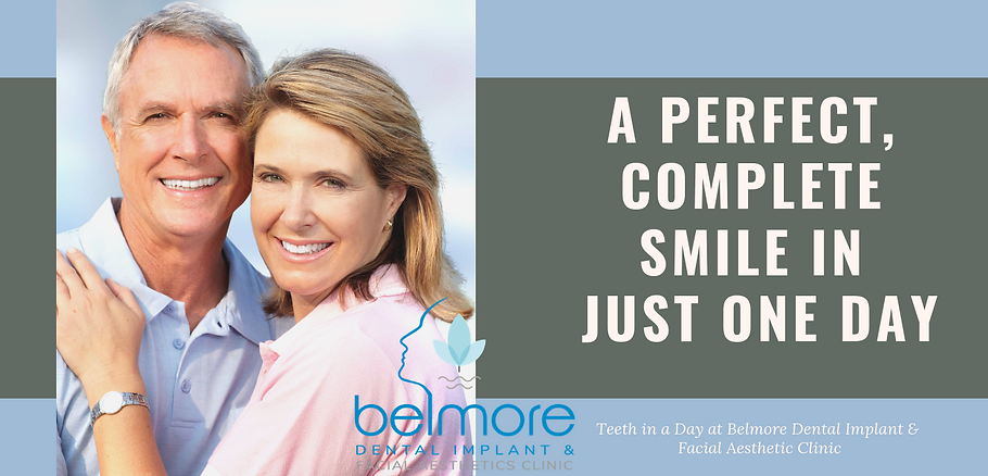 A Perfect, Complete Smile in Just One Da