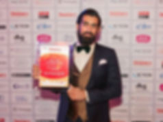 Dr Shiraz Khan dentistry awards