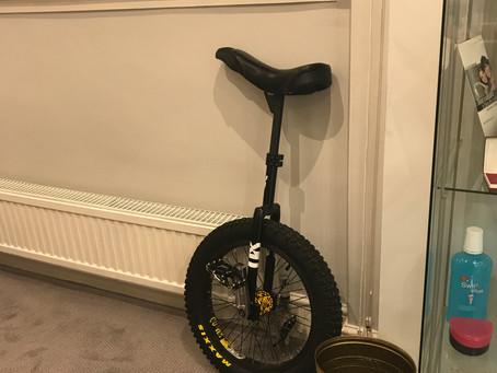 Unusual means of patient transport to Queens Gate Orthodontics