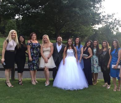 Team Members Wedding