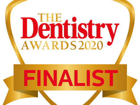 Queen's Gate Orthodontics is a Finalist in The Dentistry Awards, 2020