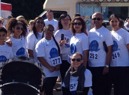 Mouth Cancer Charity Sponsored Walk 2015