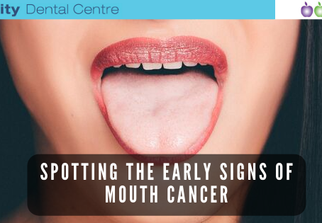Spotting the early signs of mouth cancer