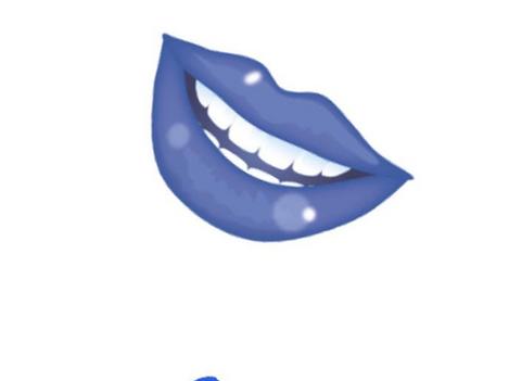 Blue Lip Selfie