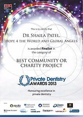 best community for charity project