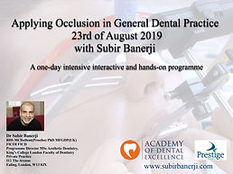 Applying Occlusion 23rd August 2019.JPG