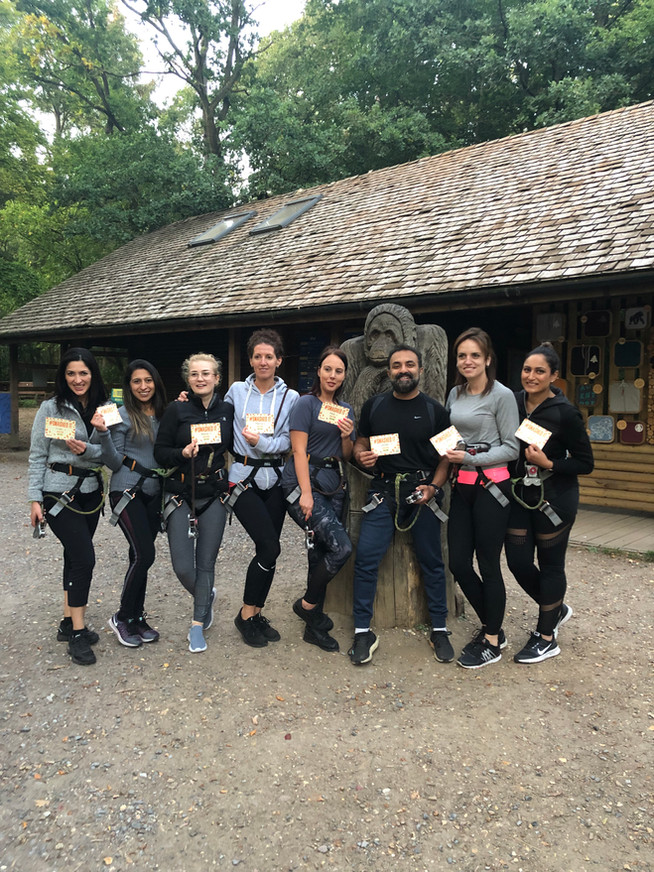 Go Ape Team Outing