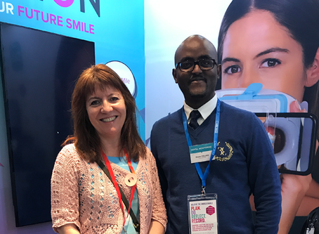 The Queens Gate Orthodontics team attended The Dental Show at Olympia last week