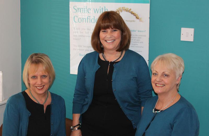 Our Reception Team - Margaret, Debbie &  Christine