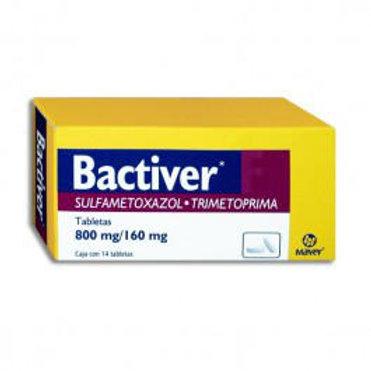 BACTIVER F TABLETAS  800/160MG C/14