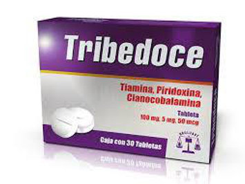 TRIBEDOCE TABLETAS  C/30