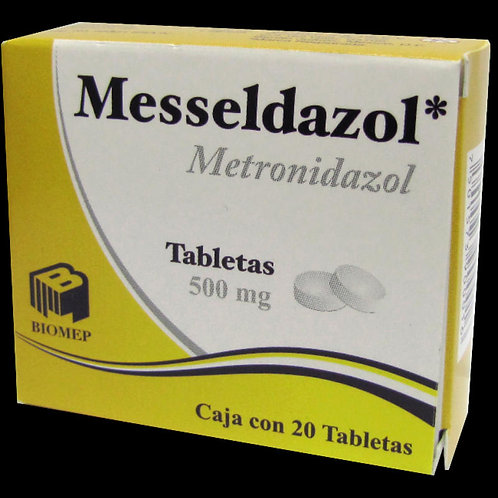 MESSELDAZOL TABLETAS  500MG C/30