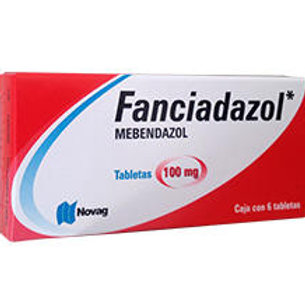 FANCIADAZOL TABLETAS   100MG C/6
