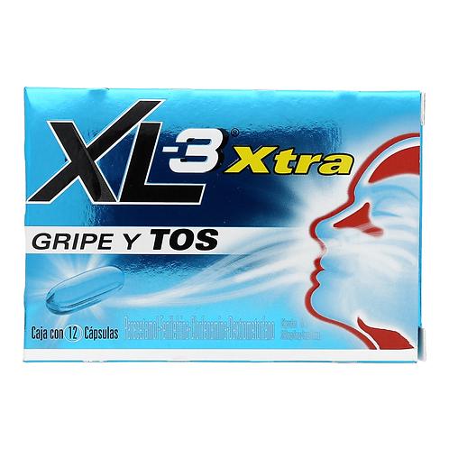 XL 3 XTRA 250MG  CÁPSULAS C12