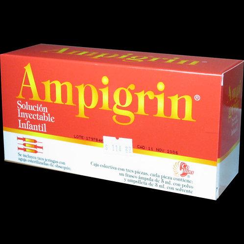 AMPIGRIN  INYECTABLE  INFANTIL  250MG C/3