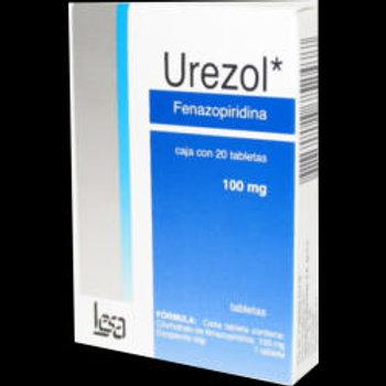 UREZOL TABLETAS  100MG C/20