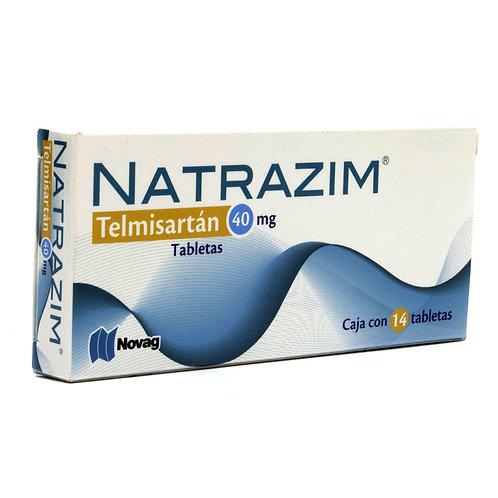 NATRAZIM TABLETAS  C/14 40 MG