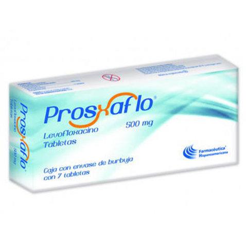 PROSXAFLO TABLETAS  500MG C/7