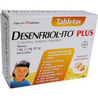 DESENFRIOLITO PLUS TABLETAS  C24