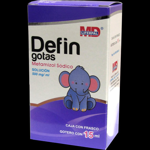 DEFIN  GOTAS 500MG/ML C/15ML
