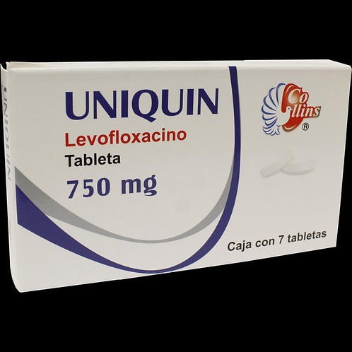 UNIQUIN 750MG TABLETAS  C/7