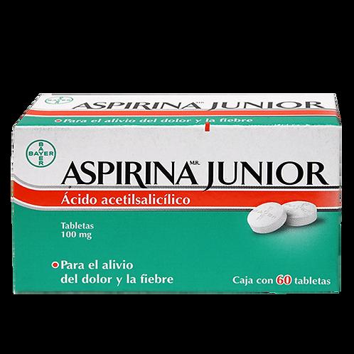 ASPIRINA JR 100MG TABLETAS  C60