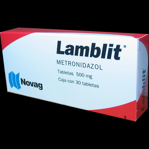 LAMBLIT TABLETAS   500MG C/30