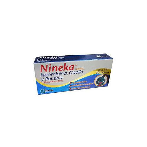 NINEKA TABLETAS   C/20 129/280/30 MG
