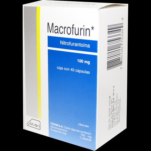 MACROFURIN  CÁPSULAS 100MG C/40