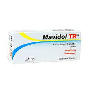 MAVIDOL TR SUBLING C/4 TABLETAS