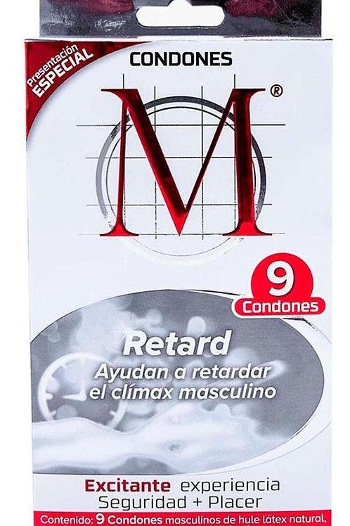 CONDONES M-FORCE RETARDANTE C9
