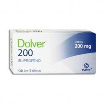 DOLVER TABLETAS  200MG C/10