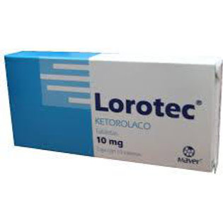 LOROTEC TABLETAS  10MG C/10