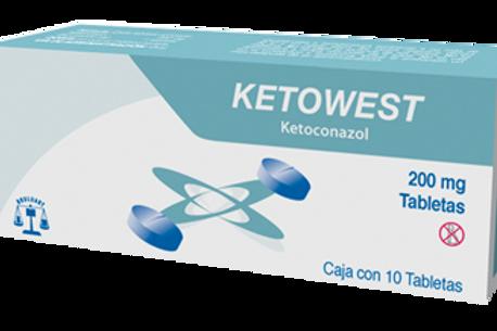 KETOWEST TABLETAS  200MG C/10