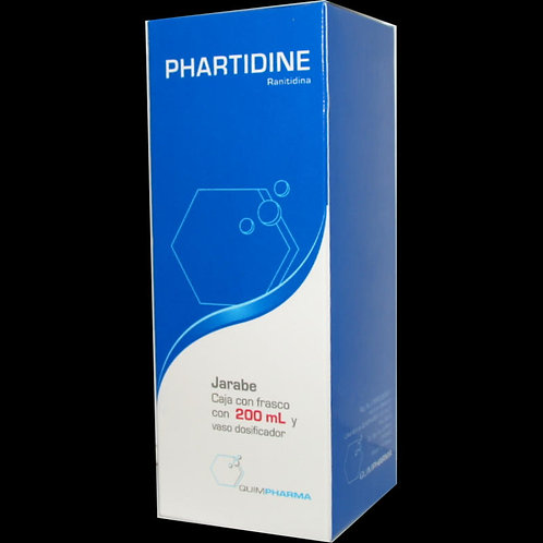 PHARTIDINE  JARABE C/200ML