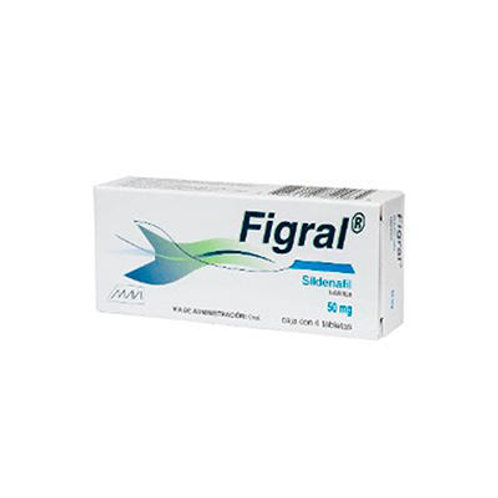 FIGRAL TABLETAS  50MG C/4