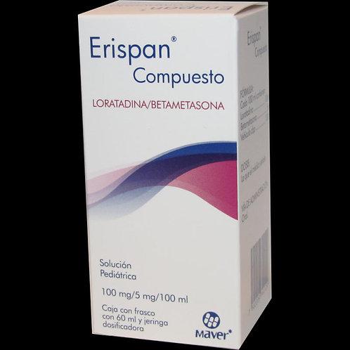 ERISPAN COMPUESTO  SOLUCIÓN  C/60ML