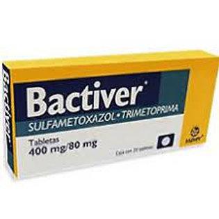 BACTIVER TABLETAS  400/80MG C/20