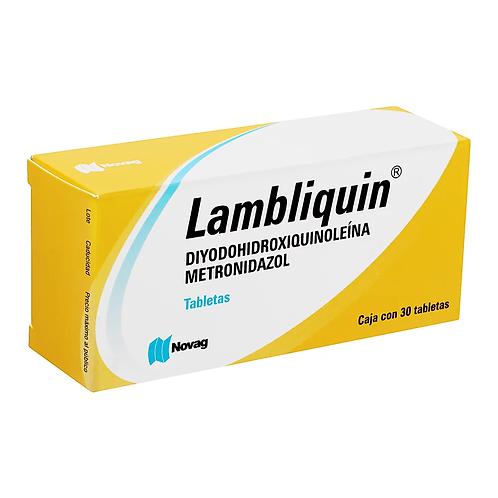 LAMBLIQUIN TABLETAS  400/200MG C/30