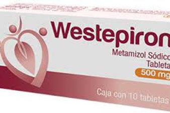 WESTEPIRON TABLETAS  500MG C/10