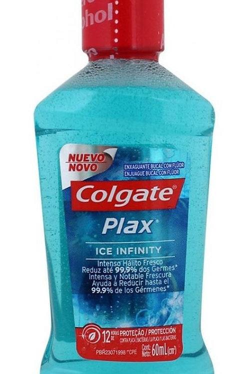 COLGATE PLAX ENJUAGUE BUCAL ICE INFINITY 60ML