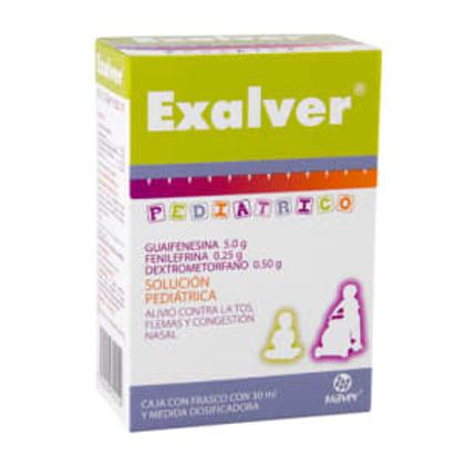 EXALVER  PEDIATRICO   GOTAS 30ML C/PARACETAMOL