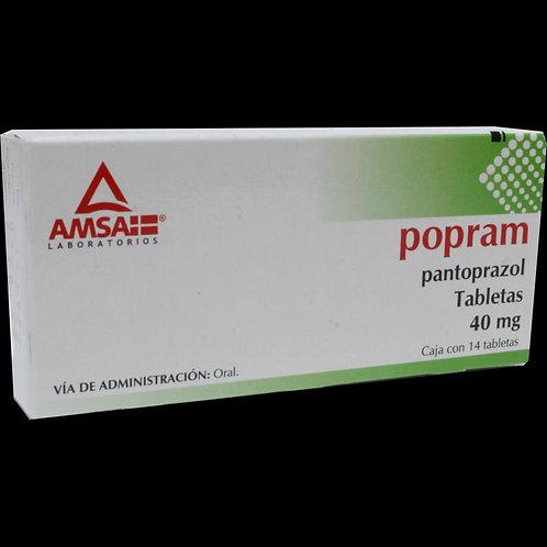 POPRAM  GRAGEAS 40MG C/14  AMSA