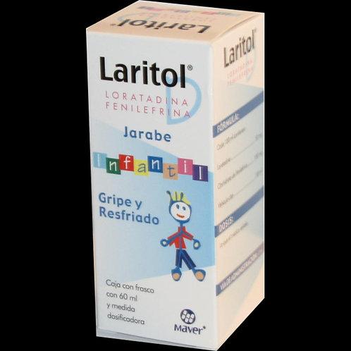 LARITOL D  JARABE  INFANTIL  C/60ML