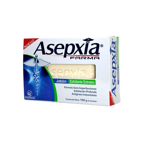 ASEPXIA FARMA JABÓN EXFOLIANTE 100G