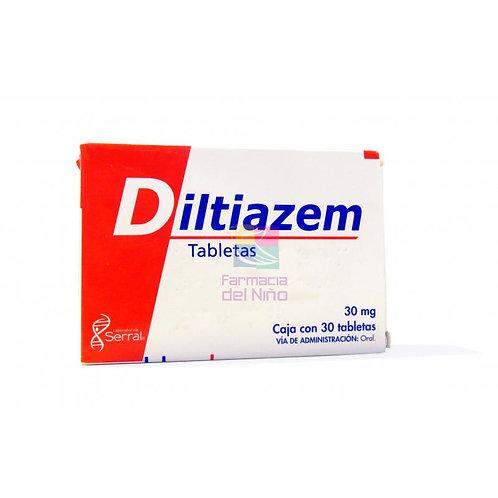 DILTIAZEM TABLETAS   30MG C/30