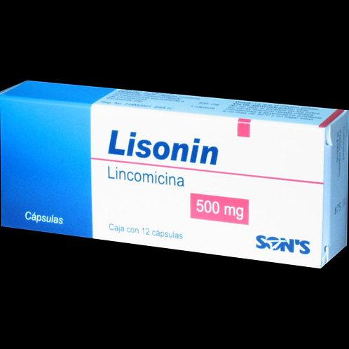 LISONIN  CÁPSULAS 500MG C/12