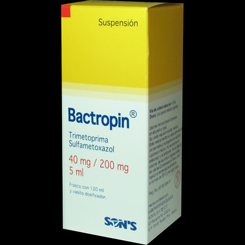 BACTROPIN  SUSPENSIÓN 40MG/200MG/5ML C/120ML