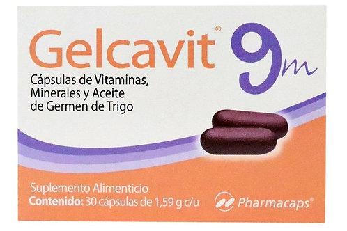 GELCAVIT 9M  CÁPSULAS C/30